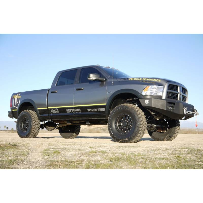 """Icon 4 5 Lift Kit Stage 4 For 2009 2012 Dodge Ram 2500: 2012 Dodge Ram 2500/3500 4WD 4.5"""" Suspension"""
