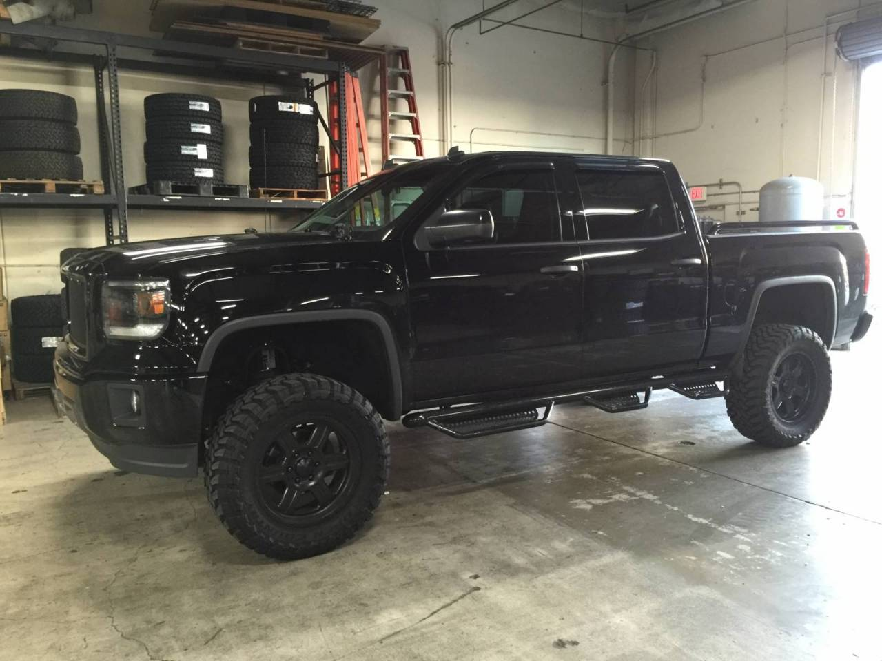 Photo Gallery - Blacked Out Sierra