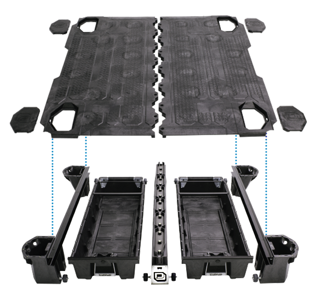 Decked Truck Bed Storage >> DECKED - Truck Bed Storage System