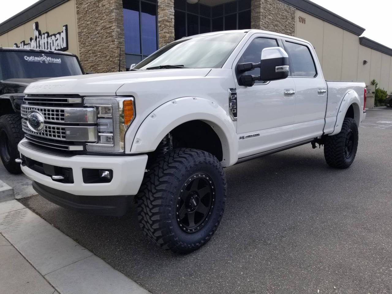 Photo gallery 2017 pearl white f250