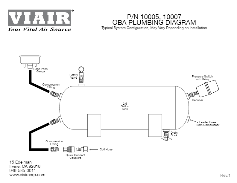 viair compressor wiring diagram viair 10007 constant duty oba for up to 37  tires     150 psi 1 80 cfm  viair 10007 constant duty oba for up to