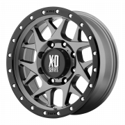 KMC Wheels - KMC XD127 Bully (Matte Grey)