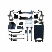 "Icon Vehicle Dynamics - ICON 2011-2016 GM 2500HD/3500 6-8"" Torsion Relocation Suspension System - Stage 3"