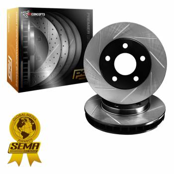 R1 Premier Series - Slotted Rotors