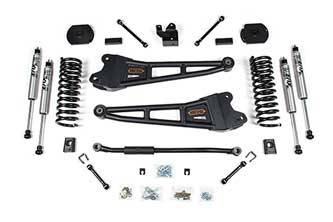 "BDS Suspension Systems - BDS 3"" Radius Arm Suspension System 