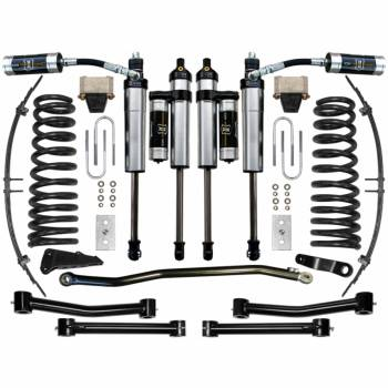 "Icon Vehicle Dynamics - ICON 2003 - 2008 Dodge Ram 2500/3500 4WD 4.5"" Suspension System - Stage 4"