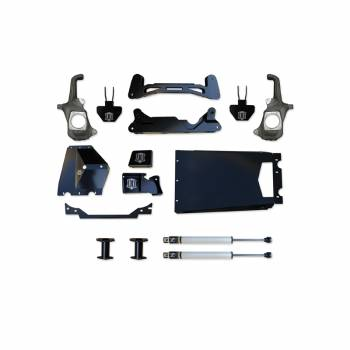 "Icon Vehicle Dynamics - ICON 2011 - Current Chevy | GMC 2500HD / 3500 6""- 8"" Suspension System - Torsion Drop"