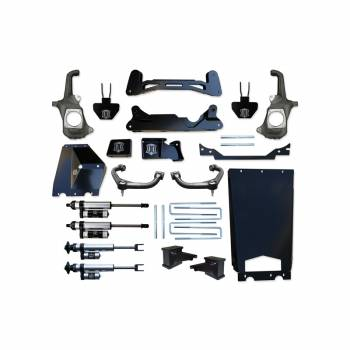 "Icon Vehicle Dynamics - ICON 2011-2016 GM 2500HD/3500 6-8"" Torsion Drop Suspension System - Stage 3"