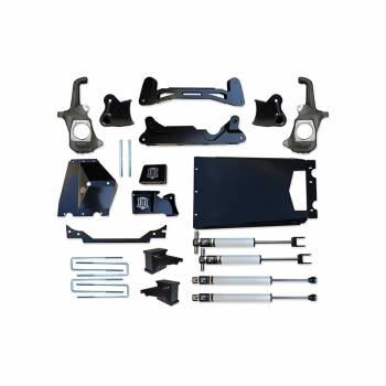"""Icon Vehicle Dynamics - ICON 2011-2016 GM 2500HD/3500 6-8"""" Torsion Relocation Suspension System - Stage 1"""