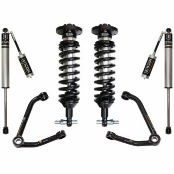 "Icon Vehicle Dynamics - ICON 2014-2017 GM Silverado/Sierra 1500 1-3"" Suspension System - Stage 2 (Large Taper)"