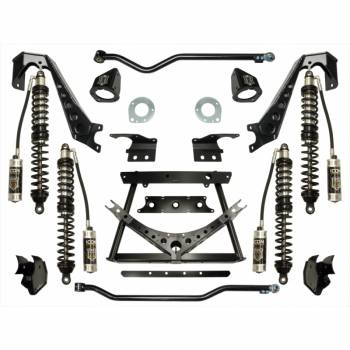"""Icon Vehicle Dynamics - ICON 2007-UP Jeep JK 1.75-3"""" Coilover Conversion System - Stage 3"""