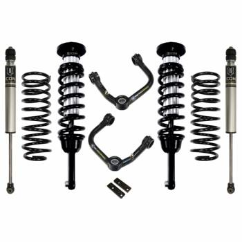 "Icon Vehicle Dynamics - ICON 2003-2009 Toyota 4Runner 0-3.5"" Suspension System - Stage 2 (Tubular)"