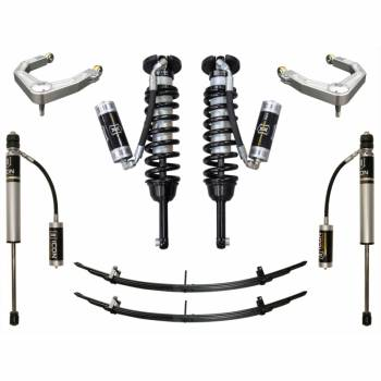 "Icon Vehicle Dynamics - ICON 2005-2015 Toyota Tacoma 0-3.5"" Suspension System - Stage 4 w/Billet"
