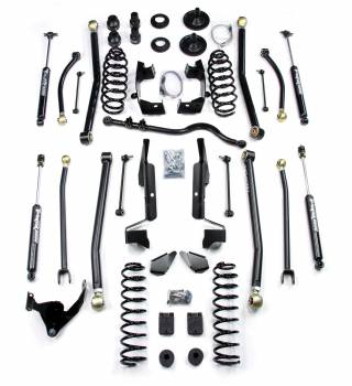 "TeraFlex - TeraFlex JK 4 Door 4"" Elite LCG Long FlexArm Lift Kit w/ 9550 Shocks"