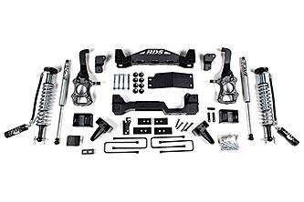 """BDS Suspension Systems - BDS 6"""" Coil-Over Lift Kit - Ford F150 4WD"""
