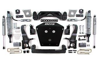 """BDS Suspension Systems - BDS 7"""" Coil-Over Lift Kit - Toyota Tundra"""