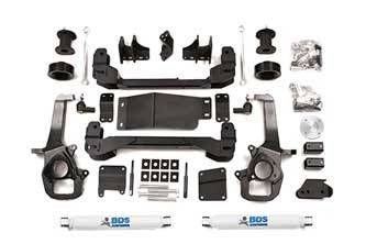 "BDS Suspension Systems - BDS 4"" Suspension Lift Kit - 2013 - 2018 Dodge 1500 4WD"