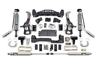 "BDS Suspension Systems - BDS 6"" Coil-Over Lift Kit - Ford F150 4WD 2009- 2013"