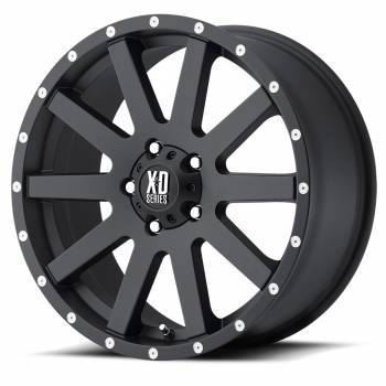 KMC Wheels - KMC XD818 Heist (Satin Black)