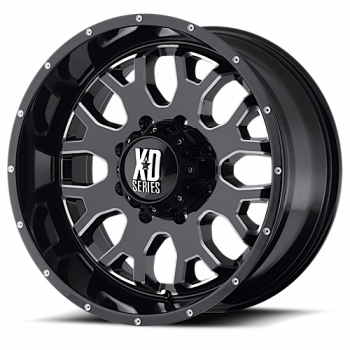 KMC Wheels - KMC XD808 Menace