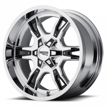 Moto Metal Wheels - Moto Metal - MO969 (Chrome w/ Black Accents)