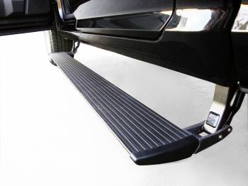 AMP Research  - AMP Research PowerStep™ with Plug-n-Play '15 F150 - Includes OEM style illumination