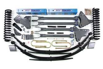"""BDS Suspension Systems - BDS 6"""" 4-Link Lift Kit - Ford F250/F350 4WD"""