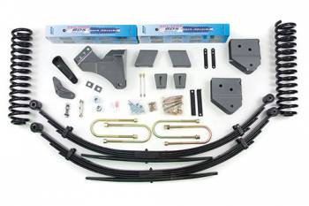"BDS Suspension Systems - BDS 6"" Lift Kit - Ford F250/F350 4WD"