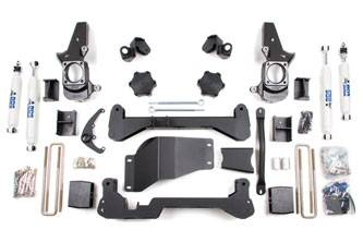 """BDS Suspension Systems - BDS 4.5"""" Suspension Lift Kit Chevy/GMC HD 4WD"""