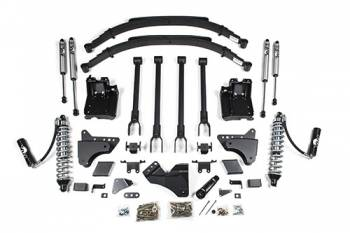 "BDS Suspension Systems - BDS 4"" 4-Link Suspension Lift Kit - Ford F250/F350 4WD"