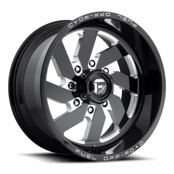 FUEL Offroad - FUEL - Turbo (Black and Milled)