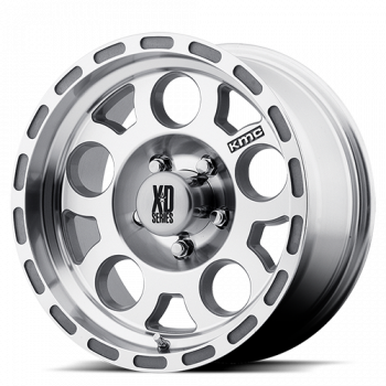 KMC Wheels - KMC XD122 Enduro (Machined w/ Clear Coat)