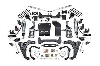 "BDS Suspension Systems - 2011 + Chevy / GMC 1 Ton Pickup 2WD/4WD  2-3"" Coil Over Conversion System"