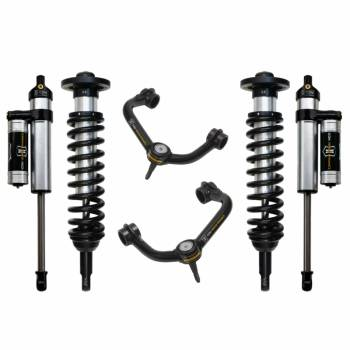 "Icon Vehicle Dynamics - ICON 2009-2013 F150 4WD 0-3"" Suspension System - Stage 3 (Tubular)"