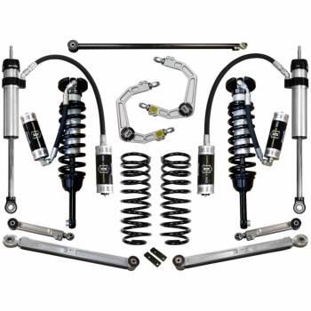 "Icon Vehicle Dynamics - ICON 2003-2009 Toyota 4Runner 0-3.5"" Suspension System - Stage 6 (Billet)"