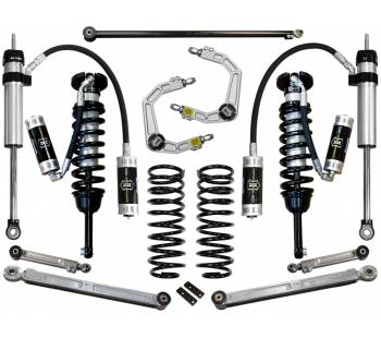 """Icon Vehicle Dynamics - ICON 2010-UP Toyota 4Runner 0-3.5"""" Suspension System - Stage 6 (Billet)"""