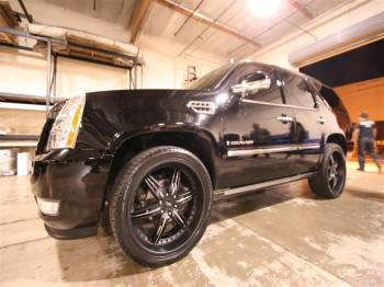 CADILLAC ESCALADE BLACK 24s Cover