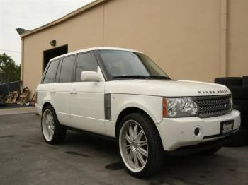 RANGE ROVER 24s CUSTOM PAINTED Cover