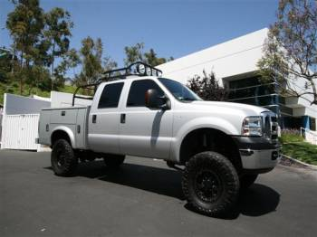 Chase Truck F250 Cover