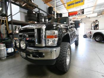 F-250 Chase Truck Cover
