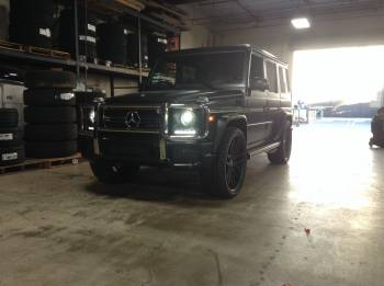 Mercedes G63 Cover