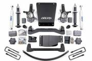"""BDS Suspension Systems - BDS - 6"""" Lift Kit for 2007-2013 Chevrolet/GMC 1500 4WD - Image 1"""