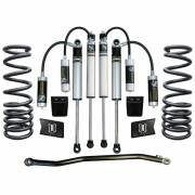 "Icon Vehicle Dynamics - ICON 2003 - 2012 Dodge 2500/3500 4WD 2.5"" Suspension System - Stage 2 - Image 1"