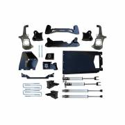 """Icon Vehicle Dynamics - ICON 2011-2016 GM 2500HD/3500 6-8"""" Torsion Relocation Suspension System - Stage 1 - Image 1"""