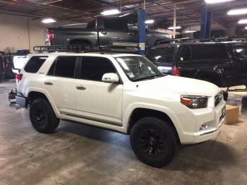 Pearl White 4Runner Cover
