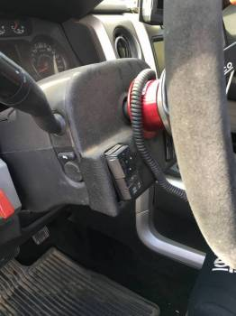 Quick Release Steering Wheel Button relocator Cover