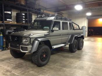 Mercedes G63 6x6 Cover