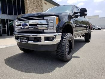 Black 2017 Super Duty